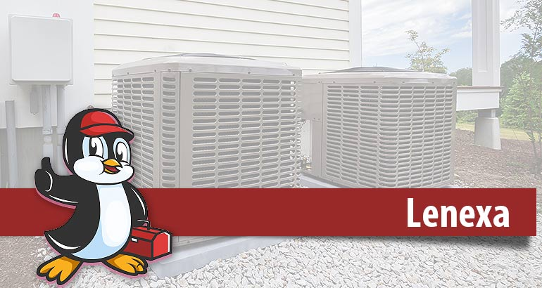 Emergency HVAC services in Lenexa logo.