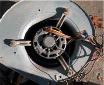 Cleaned Blower Motor