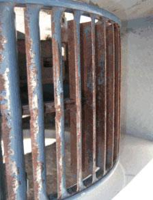 Cleaned Blower Wheel